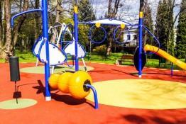 Ustroń Atrakcja Sala | plac zabaw Park Kuracyjny